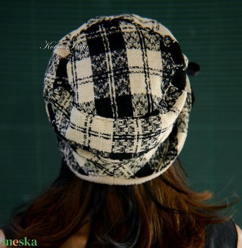 CHANEL-szövet design kalap (brokat) - Meska.hu