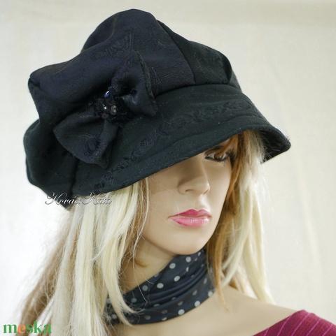LOLI-SAPI - antik-brokát sapka, selyem kalap - Meska.hu