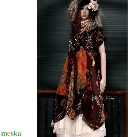 ELIZA - patchwork design-ruha  - Meska.hu