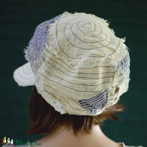 DERBY - shabby chic patchwork sapka / tamara - Meska.hu