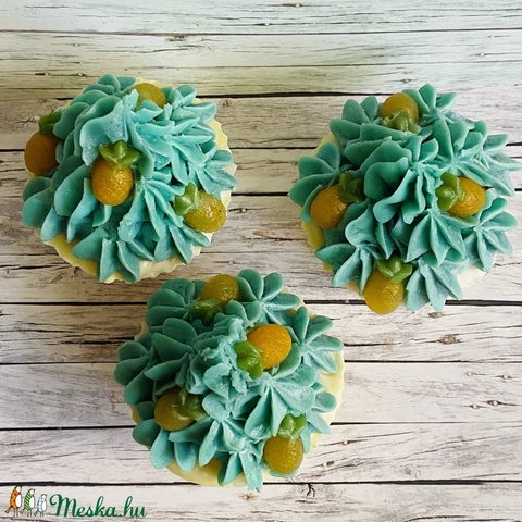 Pina colada - Kézműves Szappan Muffin (CalypSoap) - Meska.hu