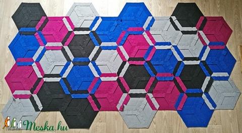 Moduláris szőnyeg - BLUE BEE  (carawonga) - Meska.hu