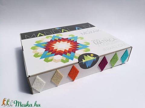 Textil mozaik matrica készlet -MANDALA IV. (carawonga) - Meska.hu