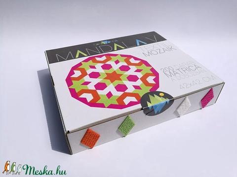 Textil mozaik matrica készlet -MANDALA V. (carawonga) - Meska.hu