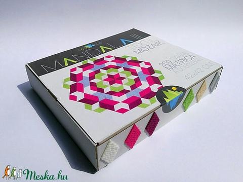 Textil mozaik matrica készlet - MANDALA III. (carawonga) - Meska.hu