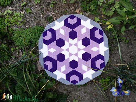 Textil mozaik matrica készlet- MANDALA VI. (carawonga) - Meska.hu