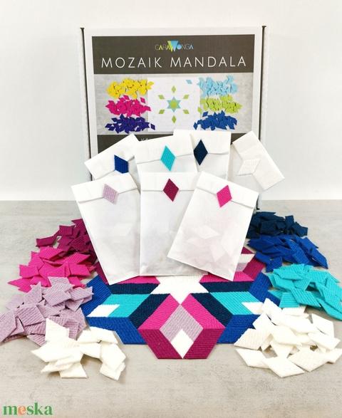 Mozaik mandala DIAMOND (carawonga) - Meska.hu