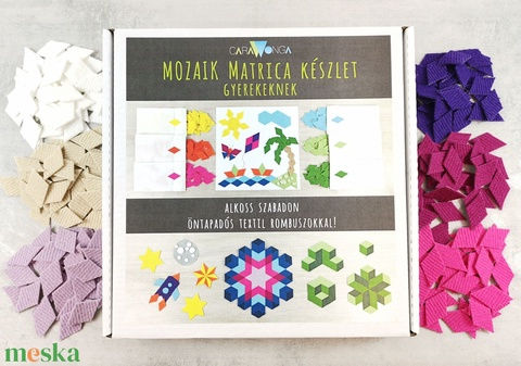 Mozaik matrica csomag GYEREKEKNEK 1. (carawonga) - Meska.hu
