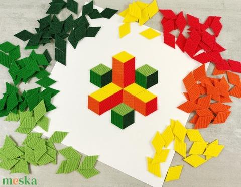 Mozaik matrica gyerekeknek – hármas csomag (carawonga) - Meska.hu