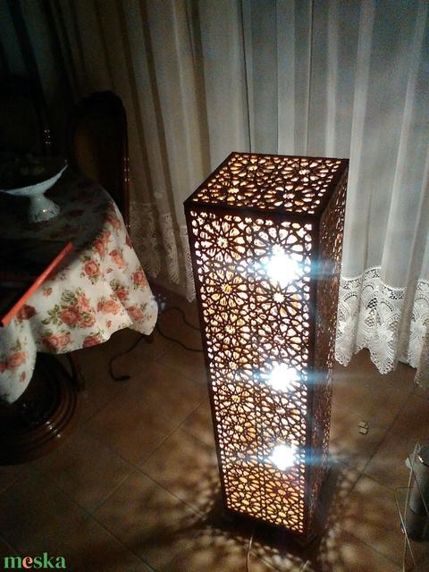 Marokkói mintás állólámpa, hangulatvilágítás (Cerving) - Meska.hu