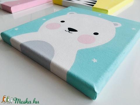Baby jegesmaci gyerekszoba falikép - Meska.hu