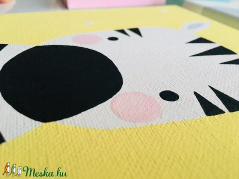 Baby zebra gyerekszoba falikép (colorhome) - Meska.hu