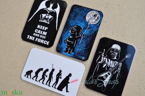 Darth Vader (Star Wars) - 4 db-os hűtőmágnes készlet (colorshop) - Meska.hu