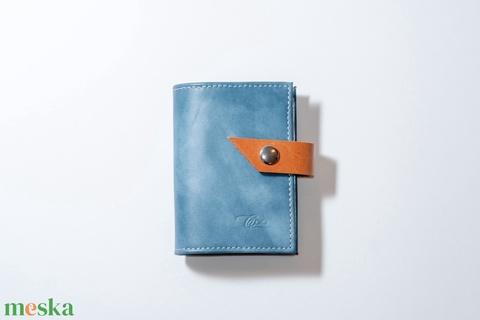 Steelblue - bankkártya tartó (Coquette) - Meska.hu