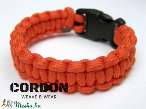 Kobra Paracord karkötő egyszínű 550/4mm (CordOn) - Meska.hu