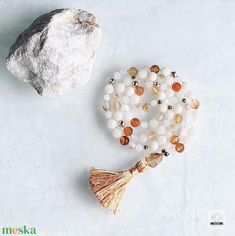 Mandarin női ásvány nyaklánc  - Meska.hu