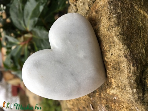 PocketHeart marble  - Meska.hu