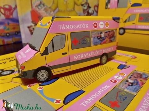 Janka útja című mesekönyv AJÁNDÉK papír mentőautóval - Meska.hu