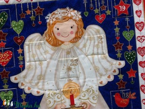 Angyalkás adventi naptár (csilibili) - Meska.hu