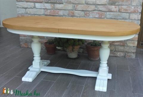 Provence dohányzóasztal, dohányzó asztal (Csillagfurt) - Meska.hu