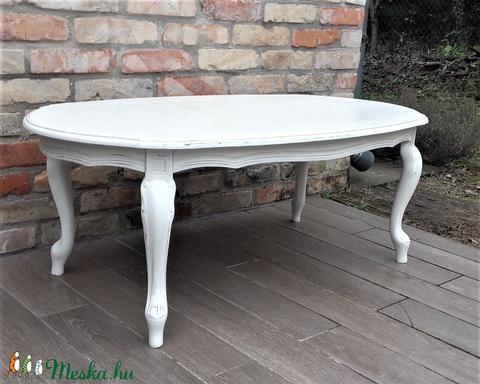 Provence dohányzóasztal, dohányzó asztal - Meska.hu