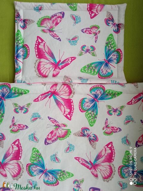 Pillangós, színes ágynemű garnitúra (csillagosveny) - Meska.hu