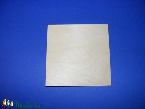 Fa alap (16x16 cm/1 db) - négyzet (csimbo) - Meska.hu