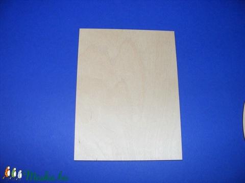 Fa alap (16x32 cm/1 db) - téglalap - Meska.hu