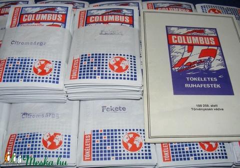Columbus ruhafesték (5 g/1 db) - ezüstszürke - Meska.hu
