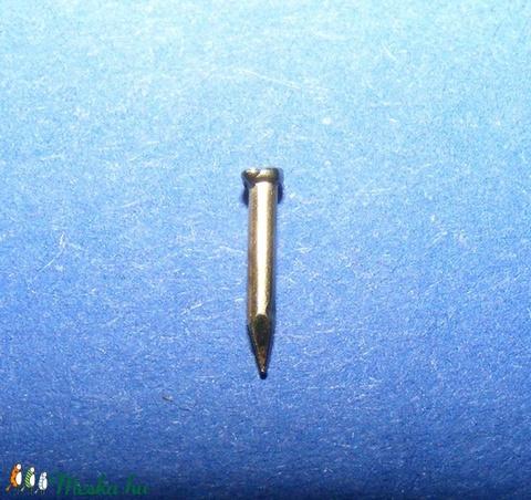 Szög-6 (8x1 mm/20 db) - bognár, arany - csat, karika, zár - Meska.hu