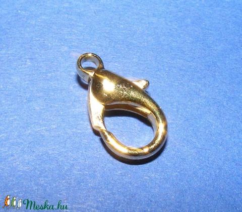 Delfinkapocs (316/A minta/1 db) - 16x8 mm - gyöngy, ékszerkellék - Meska.hu