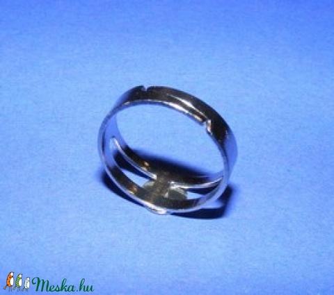 Gyűrű alap (27/A minta/1 db) - Meska.hu