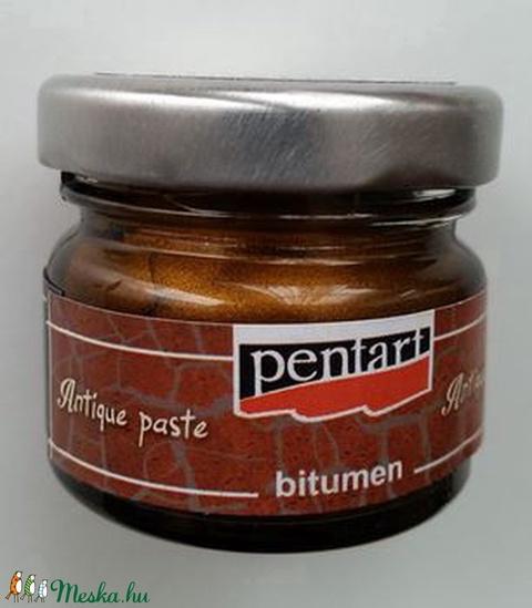 Pentart bitumenes antikoló paszta (20 ml/1 db) - antik bronz - Meska.hu