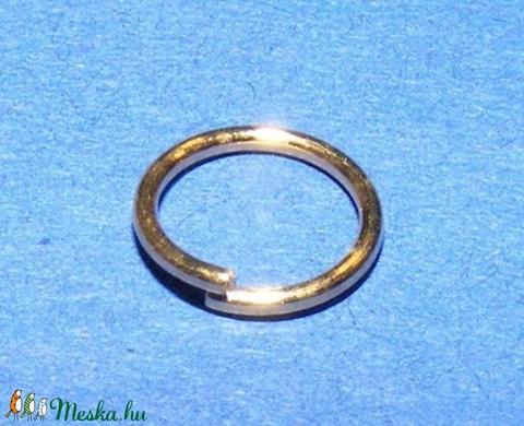 Szerelőkarika (1019/A minta/20 db) - 7x0,7 mm - gyöngy, ékszerkellék - Meska.hu