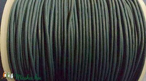 Hasított bőrszíj - 2 mm (28. minta/1 m) - sötétkék (AKCIÓS) - Meska.hu