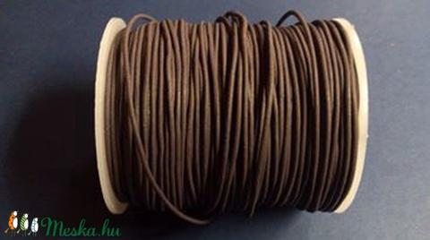 Hasított bőrszíj - 1,5 mm (14. minta/1 m) - sötétlila - vegyes alapanyag - egyéb alapanyag - Meska.hu