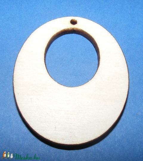Fa fülbevaló alap (6. minta/1 db) - Meska.hu