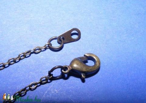 Szerelt lánc (4. minta/1 db) -  1,5x2 mm x 66 cm - Meska.hu