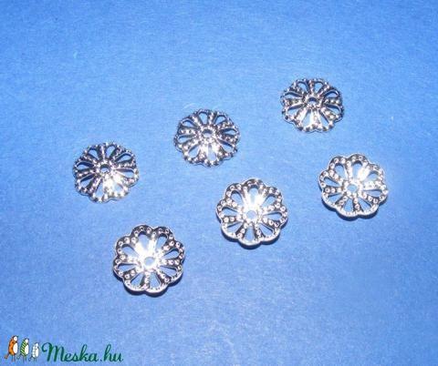 Gyöngykupak (1. minta/10 db)  - 10 mm - gyöngy, ékszerkellék - egyéb alkatrész - Meska.hu