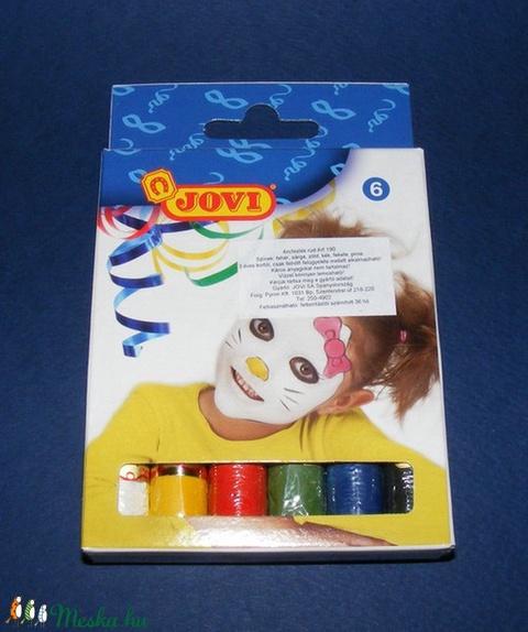 Jovi arcfesték készlet (6 színű) - nagy - Meska.hu