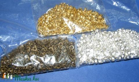 Gyöngykupak akasztó(45/A. minta/10 db) arany - Meska.hu