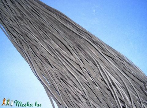 Bőrszíj - 3x1 mm (90. minta/1 db) - fekete - Meska.hu