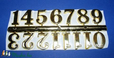 Arab számsor (104. minta/arany) - 20 mm -  - Meska.hu