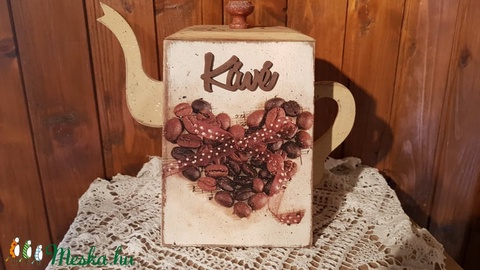 Kávé tartó kanna doboz (csinaldmesike) - Meska.hu