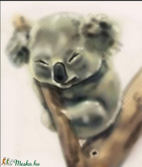 Koala festmény (csirimiri) - Meska.hu