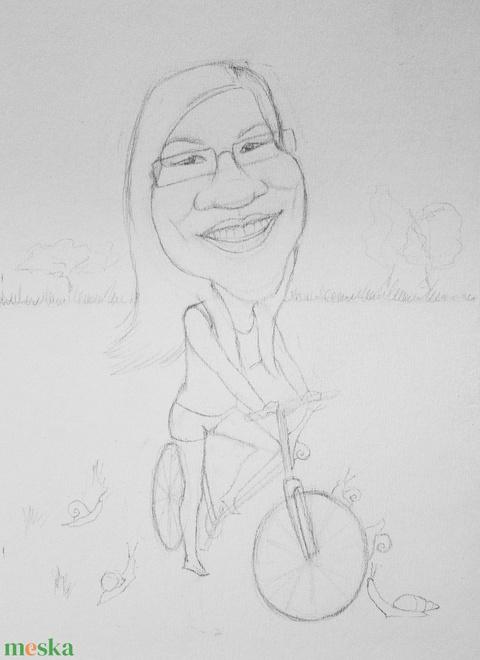 Karikaturista (csirimiri) - Meska.hu