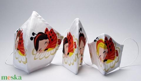 KATICÁS   SZÁJMASZK - INGYEN SZÁLLÍTÁS ( felnőtteknek-gyerekeknek- egyedi -egészségügyi szájmaszk)  (decorfantasy) - Meska.hu