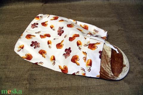 Pékárus kenyereszsák (28x38cm)-ÖKO környezetbarát anyagból háziasszonyoknak,-INGYENES SZÁLLÍTÁSSAL - táska & tok - bevásárlás & shopper táska - kenyeres zsák - Meska.hu