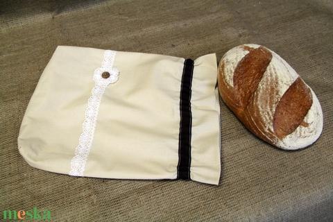 Natúr kenyereszsák (30x35cm)-ÖKO környezetbarát anyagból háziasszonyoknak,-INGYENES SZÁLLÍTÁSSAL (decorfantasy) - Meska.hu