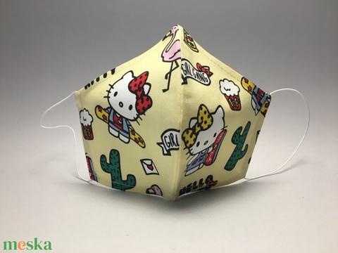 EGYEDI  SZÁJMASZK  HELLO KITTY  I ( felnőtteknek-gyerekeknek- egyedi -egészségügyi szájmaszk)  (decorfantasy) - Meska.hu
